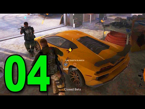 Ghost Recon: Wildlands Beta - Part 4  Stealing a Lambo