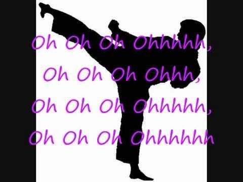 Foo fighters kung fu fighting lyrics