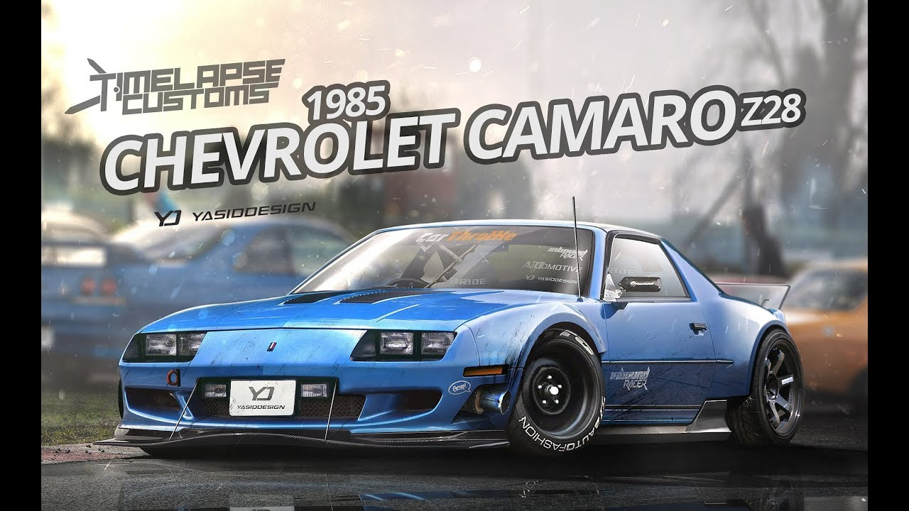 Customize A 1985 Chevrolet Camaro Z28 With Yasid Design