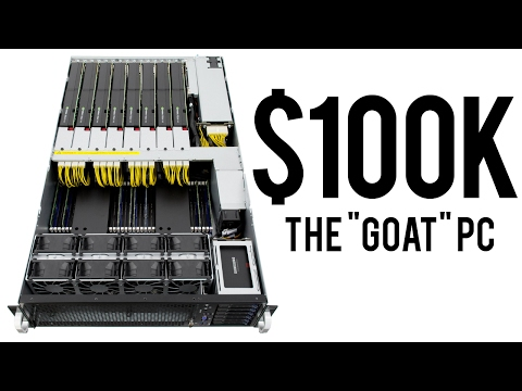 The UNBELIEVABLE $100,000 Workstation/Gaming PC for 2017! - (100,000 Subscriber Special)