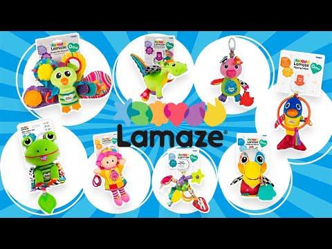 Обзор игрушек для малышей Lamaze