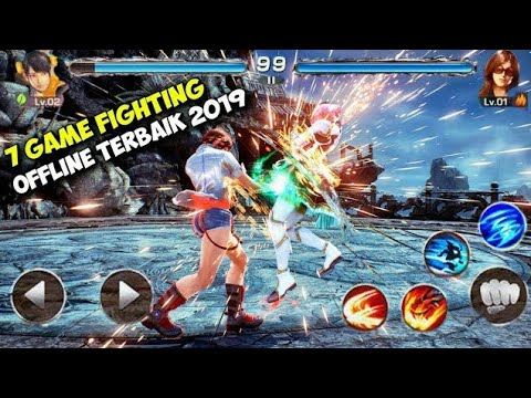 MANTAP !!! Top 7 Game Fighting Offline Terbaik Android 2019 - Download Games High Graphics HD - 동영상