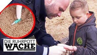 Angst vor dem Kinderhasser: Spritzen auf dem Spielplatz gefunden! | Die Ruhrpottwache | SAT.1 TV