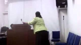 Evangelist Stephanie Jackson Preaching The True Word of God pt1