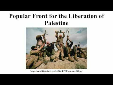 Popular Front for the Liberation of Palestine
