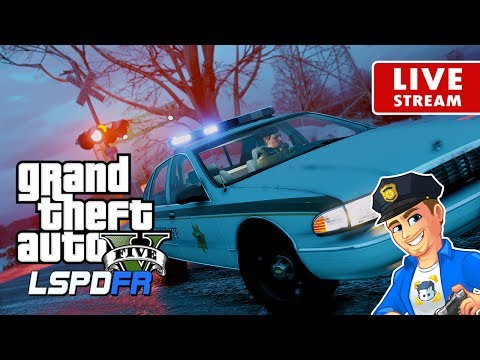 GTA 5 LSPDFR LIVE PATROL 90s Snow Patrol in North Yankton | LSPDFR Real Life Police Mod Gameplay