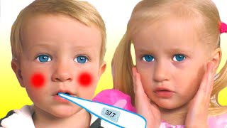 Lagu Sakit | Sick Song | Lagu Anak-anak dari Katya dan Dima