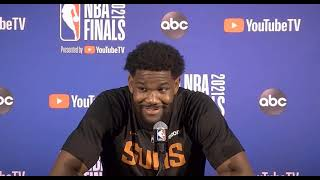 Deandre Ayton Practice Report; Suns faces the Bucks in Game 6