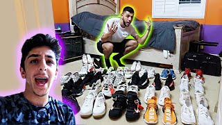 I STOLE FaZe RUG'S $50,000 SHOE COLLECTION! *HE CAUGHT ME*