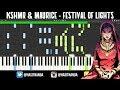 KSHMR Maurice West Festival Of Lights TUTORIAL mp3