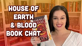 House of Earth and Blood by Sarah J Maas || Book Chat/Review || non-spoilers + spoilers [CC]