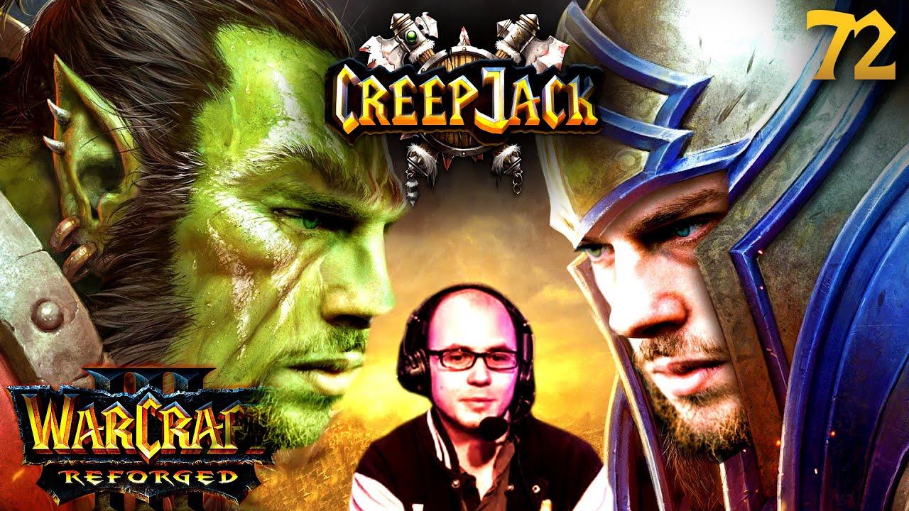 How to Nachtelf mit Tipps von Kevin Schwehm   Creepjack: Warcraft 3 Reforged #72 mit Florentin