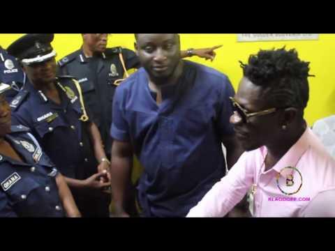 SHATTA WALE DONATES TO POLICE HOSPITAL