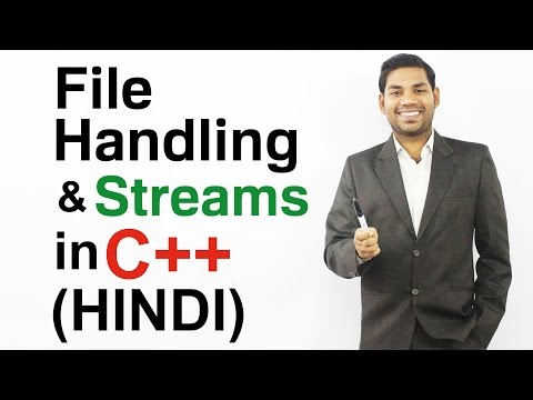 File Handling and Streams in C++ (HINDI)