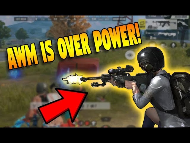 AWM IS OVERPOWERED THAN KAR-98K!! BEST SNIPER! (Rules of Survival: Battle Royale) [TAGALOG]