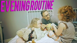 Evening Routine with Flashback vlog
