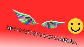 How to Get Rainbow Wings On Roblox!