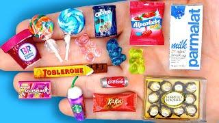 27 DIY MINIATURE BARBIE IDEAS ~ Miniature of Food and Drinks, Life Hacks crafts !!!