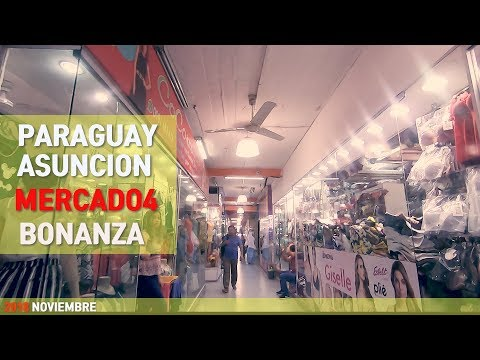 PARAGUAY Asunción Mercado 4 Bonanza  (Gopro7 Black)
