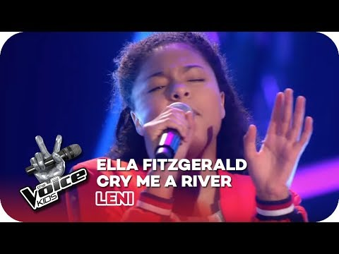 Ella Fitzgerald - Cry Me A River (Leni) | Blind Auditions | The Voice Kids 2018 | SAT.1
