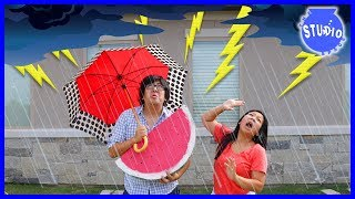 Baixar Lightning Thunderstorm made our power go out + Funny Cartoon Animated EK DOODLES!!!
