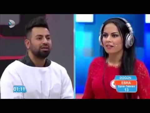 Awesome couple in turkish gameshow - READ MY LIPS