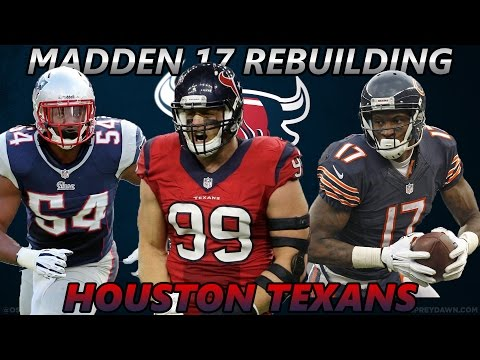 Madden 17 Connected Franchise | Rebuilding The Houston Texans | Madden Simulation Ft. 21 Savage