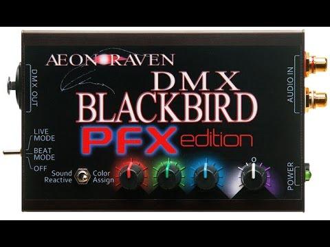 PFX MobileDJ Par Light Sound Reactive DMX Controller