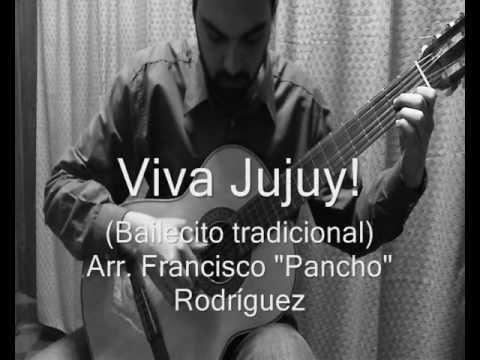 """David Carrizo - Viva Jujuy! - Arr. """"Pancho"""" Rodríguez"""