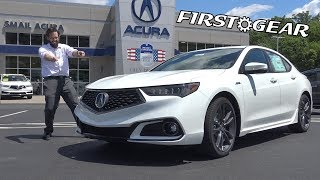 2018 Acura TLX A-Spec - Review and Test Drive - First Gear