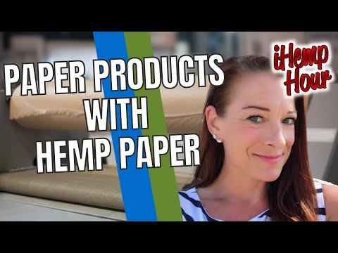 Replacing Traditional Paper Packaging with Hemp Paper with Erica Halverson | iHemp Hour
