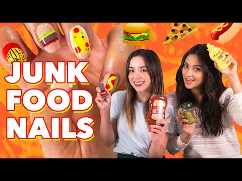 junk-food-inspired-nail-diy- -shay's-tutorials
