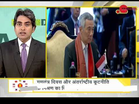 DNA: Analysis of the mixture of Republic day and International diplomacy
