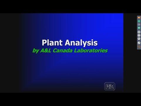 A & L Plant Tissue Sampling Webinar 06/06/2017