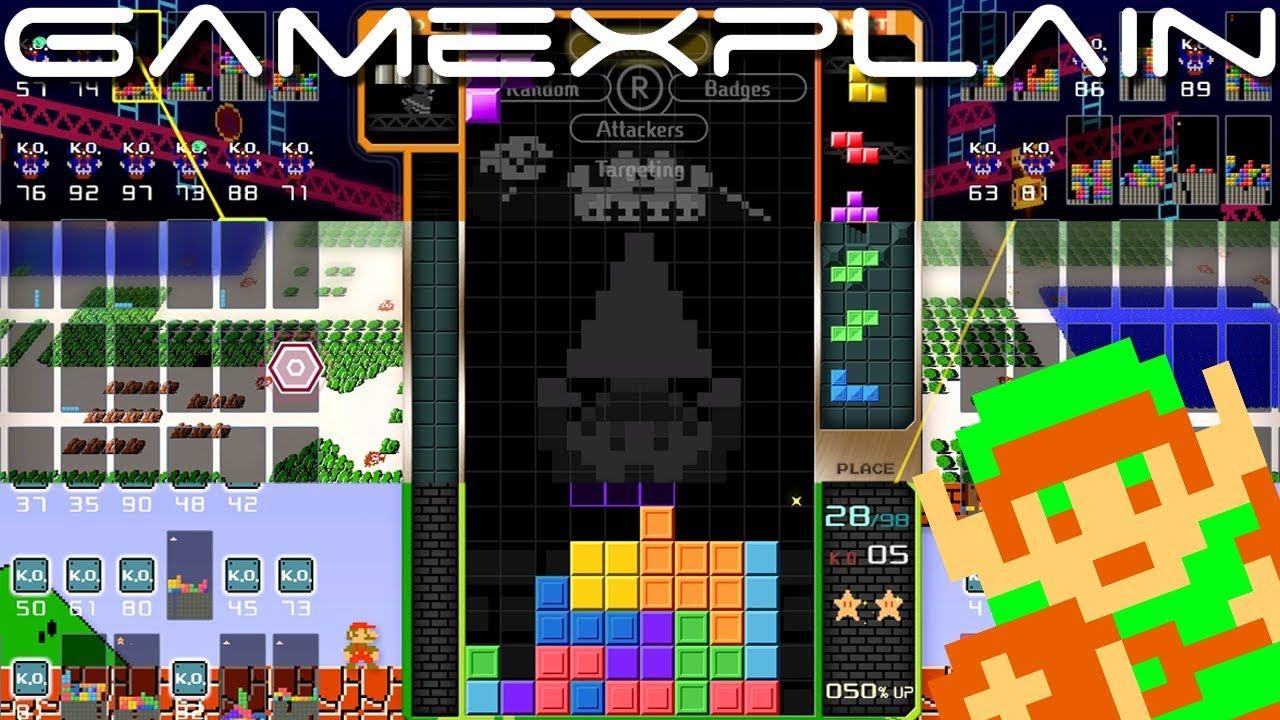 Δείτε και ακούστε τα Super Mario, Donkey Kong & Zelda themes του Tetris 99