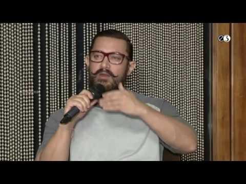 Aamir Khan - Dangal Movie Team at Hyderabad    Amitabh Bhattacharya, Pritham    E3 Talkies