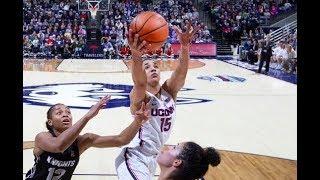 UConn Women's Basketball Highlights v. UCF 01/09/2018