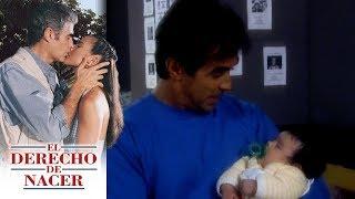 El derecho de nacer - Capítulo 20: ¡Alfredo usa a su hijo para estafar a María Elena! | Televisa