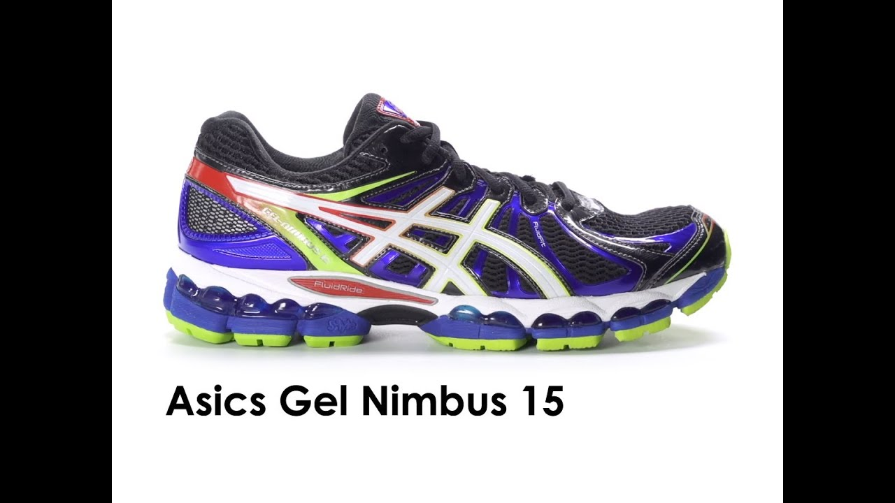 asics gel nimbus 15 fluidride review