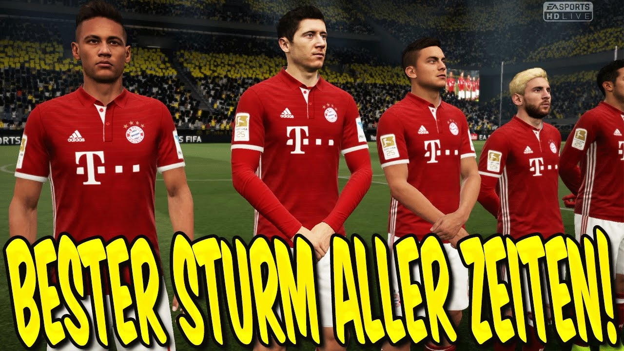 fifa 17 karrieremodus bester sturm aller zeiten gameplay bayern karriere deutsch 39. Black Bedroom Furniture Sets. Home Design Ideas