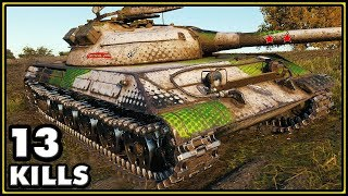 Object 430U - 13 Kills - World of Tanks Gameplay