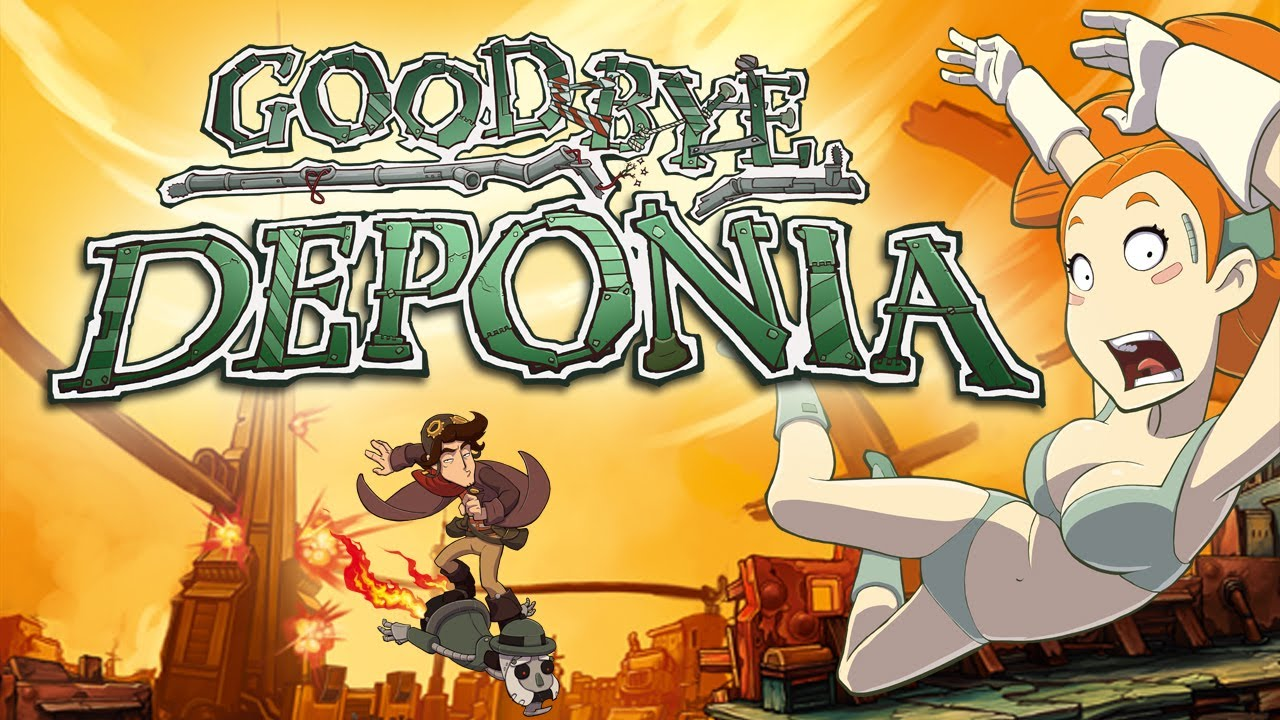 Wallpaper Gravity Falls Goodbye Deponia Official Trailer English Youtube