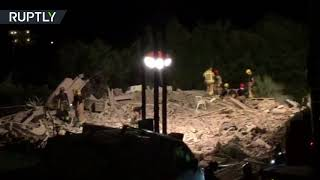 Aftermath of house explosion in Alcanar, Catalonia, possibly linked to Barcelona attack – police thumbnail