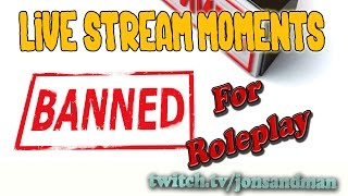 arma 3 life live stream moments a3l banned for rp