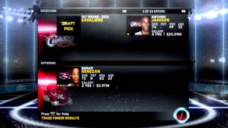 NBA 2K12: Toronto Raptors Association Ep.1 - Acquiring New Pieces