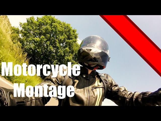 Amazing Motorcycle Montage GoPro Hero HD