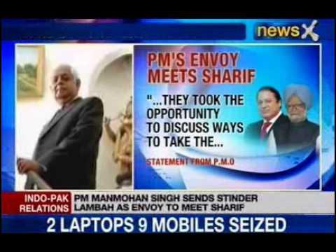 Manmohan Singh sends Satinder Lambah as envoy to meet Nawaz Sharif