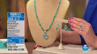 HSN   Mine Finds By Jay King Jewelry 02.10.2018 - 02 PM