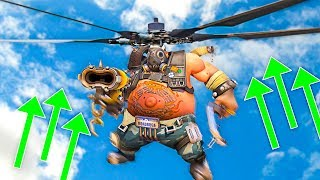 NEW Helicopter Game Mode Overwatch Workshop VS
