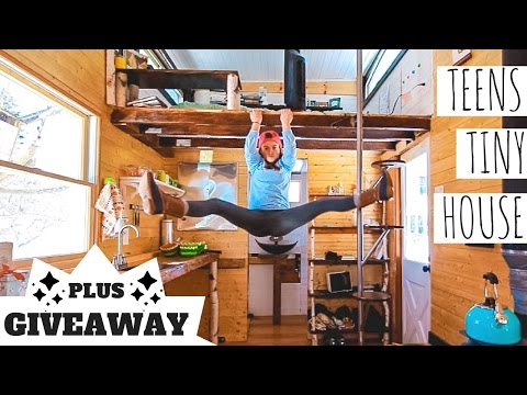 My Favorite Utilities in My Tiny House || Teenagers Tiny House || GIVEAWAY